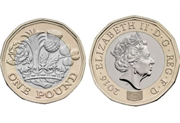 The New £1 Coin that is coming into Circulation in March 2017